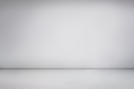 White empty photo studio, empty photographer studio background