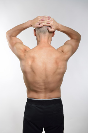 perfect fit: perfect fit man from the back