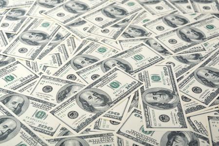 money background: Background with money american hundred dollar bills