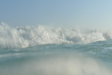 sea wave: sea wave, motion blur