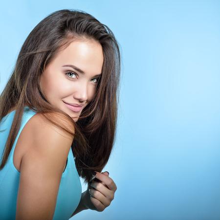 Perfekte gesunde haare