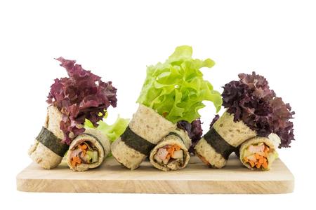 Rouleau de salade Banque d'images - 74213166
