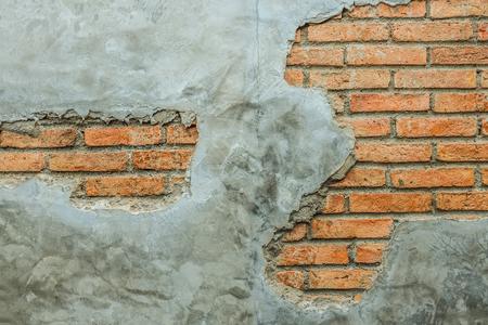 wall brick cracked landscape