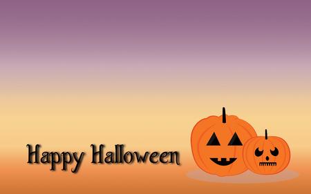 murk: Pumpkins devil in halloween night Stock Photo