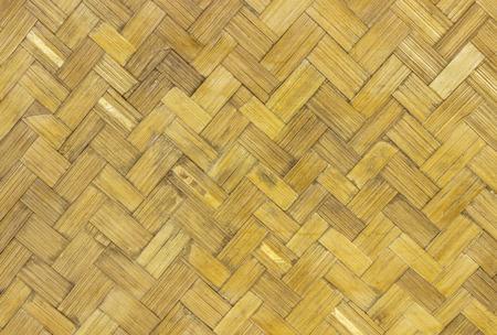 Woven bamboo pattern photo
