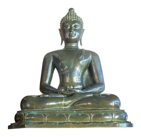 paper sculpture: Buddha statue