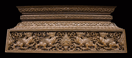 thai culture: Thailand wood carving