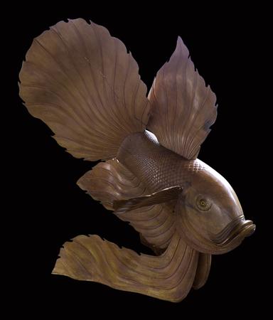 model fish: Wood Carving