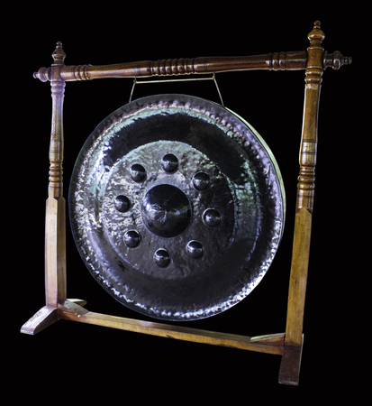Gong: Thailand gong Stock Photo