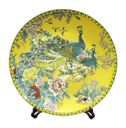peafowl: Peacock painting