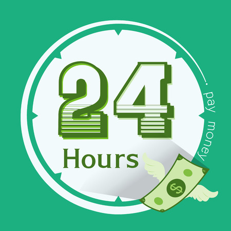 e money: pay money service, e commerce service, 24 hours icon