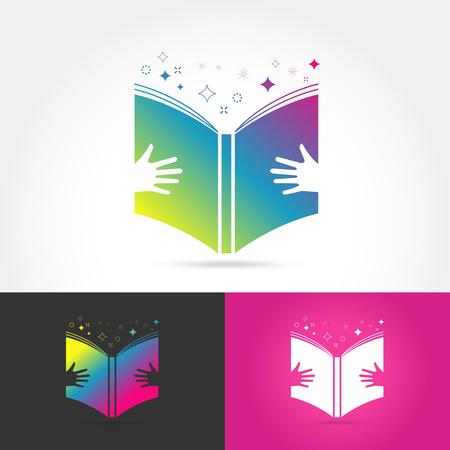 book vector: Education book vector design represents school, education sign and symbol. Vector illustration Illustration