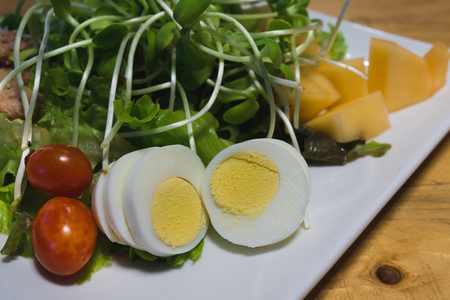 fresh salad ready to serve Stock Photo