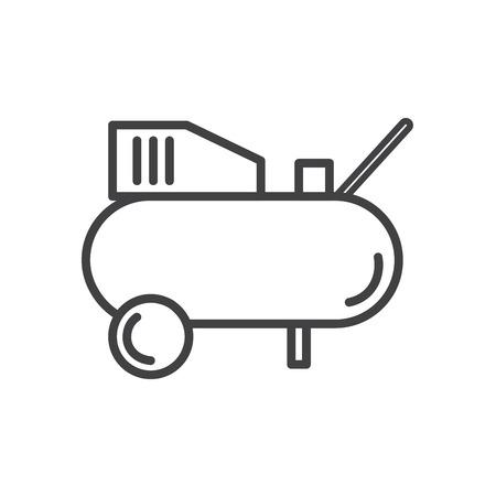 Compressor icon vector. Иллюстрация
