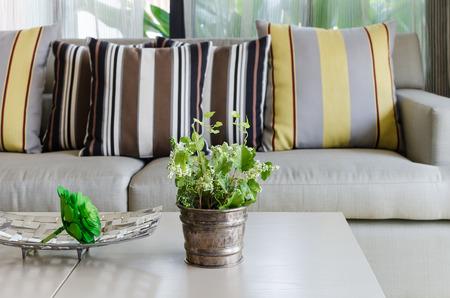 classic living room: classic living room design decoration Stock Photo