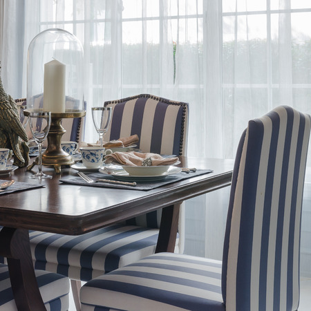 luxury dinning room with chair and table photo