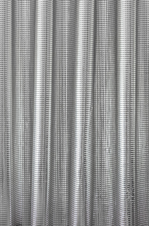 iron curtains: metal used as curtain as background image