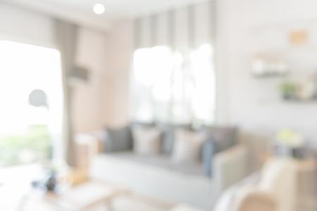 Vervagen beeld van moderne woonkamer design Stockfoto