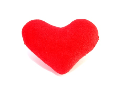 Red heart. photo