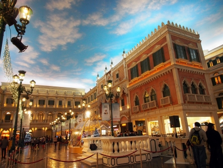 Building interiors, Venetian Macau.     Stock Photo - 18800086