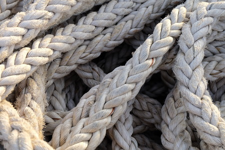 coiled rope: Rope