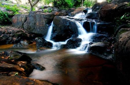 Prachin Waterfall  of Thailand photo