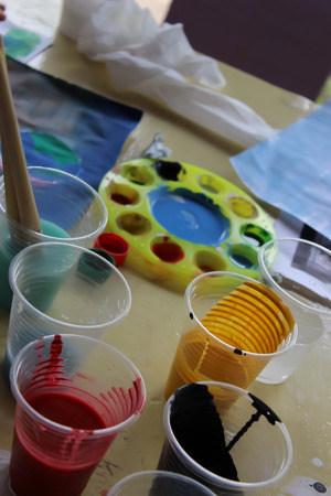 create: Equipment to create art.