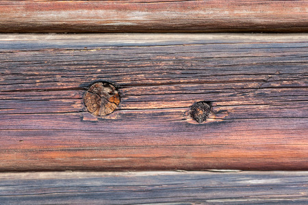 Wood plank, vintage brown background. Outdoor shot Фото со стока