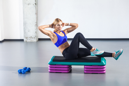 Step Aerobics Stock Photos And Images 123rf
