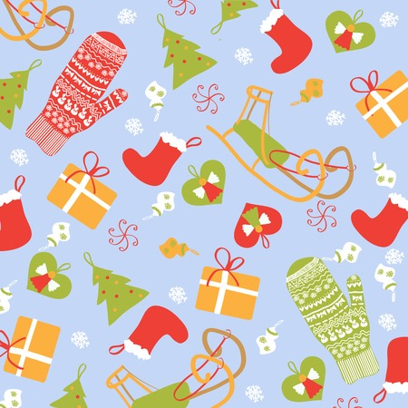 Christmas background new year vector graphic illustration design Illustration