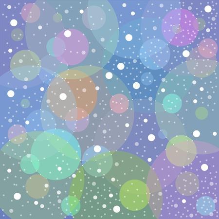 Snow blue background vector graphic illustration design art