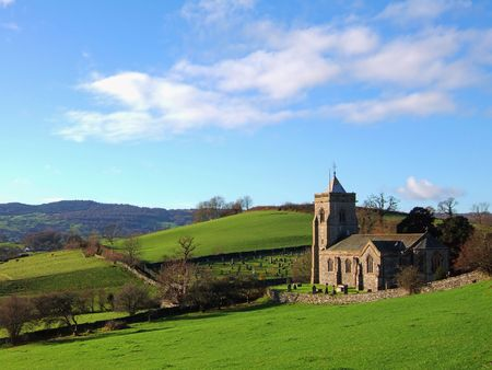 Crosthwaite church in the Lythe valley, Cumbria Stock Photo - 693069