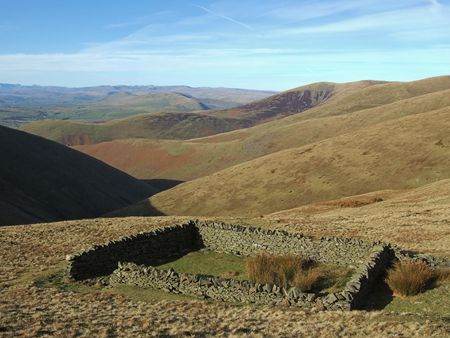 Sheepfold on the Howgills photo