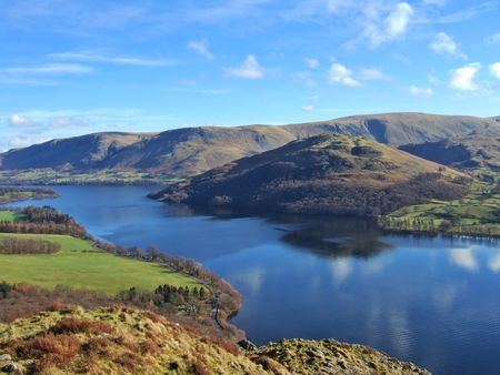 Northern end of Ullswater from Gowbarrow Fell Stock Photo - 816817