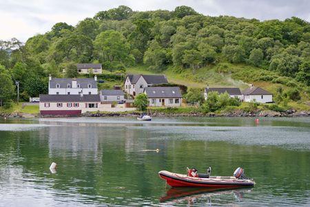 Charlestown, Loch Gairloch, Wester Ross, NW Szkocji