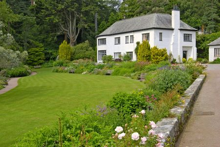 House at Inverewe Garden, Sutherland, NW Scotland