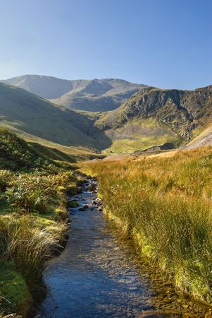 fells: Coledale Beck in the English Lake District