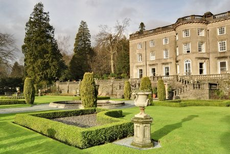 thomas: A Large Country house at Rydal in the English lake District, with a formal garden designed by Thomas Mawson