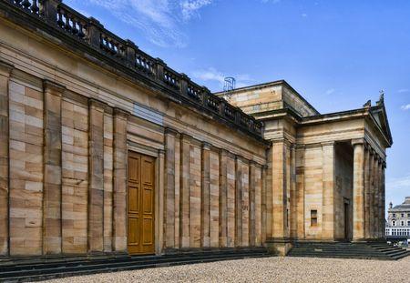 The National Gallery of Scotland, Edinburgh, Uk 免版税图像