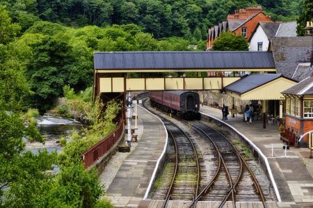 Llangollen Railway Station, Wales, UK