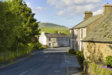 The village of Grayrigg, Cumbria, England. Stock Photo - 9645462