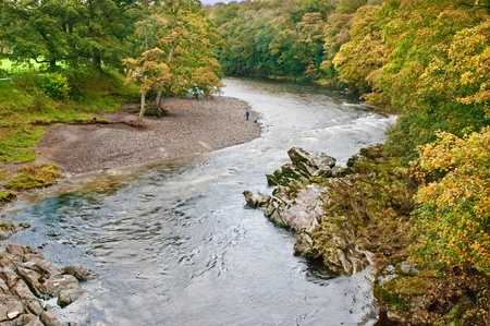 lonsdale: A bend in the River Lune at Devil