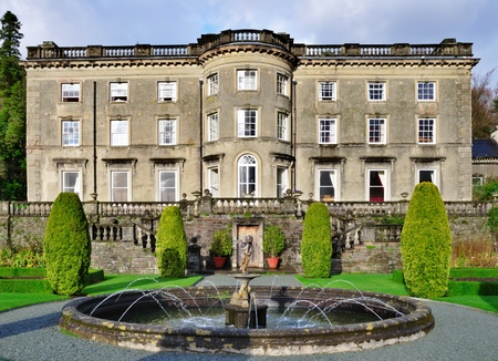 listed buildings: Rydal Hall, Rydal, English Lake District, UK, a historical listed building which is run by the Christian diocese of Carlisle to provide a retreat and conference centre.