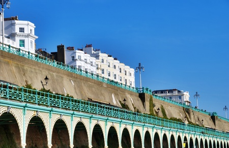 The Brighton Promenade which runs along the seafront is a public walkway and popular landmark with tourists