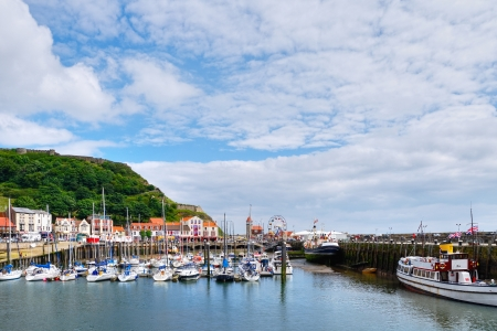 The Marina harbour at Scarborough, on the East coast of England Stock Photo - 14962851