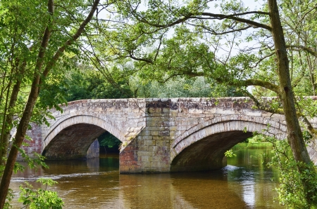 A detailed view ofPooley Bridge and the river Eamont  in the English Lake District Stock Photo - 15558688