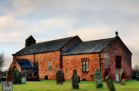 Addingham Church near Glassonby, CumbriaTaiwan Yehliu Geopark Stock Photo - 18293542