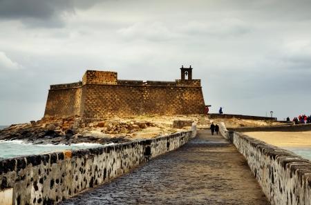 lanzarote: San Gabriel Castle in Arrecife, Lanzarote, Canary Islands