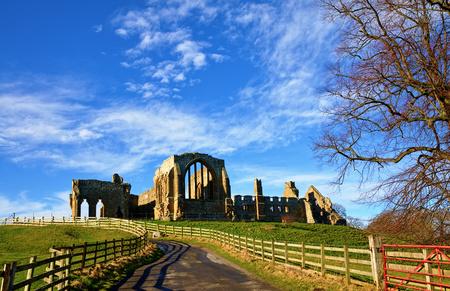 Egglestone Abbey, a ruined Premonstratensian monastery in County Durham