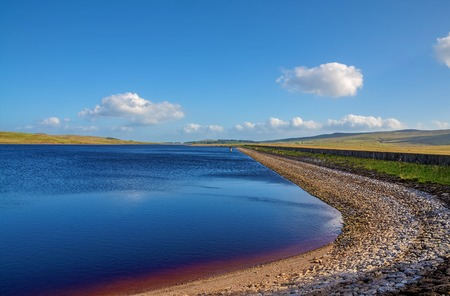 Loch Thom reservoir near Greenock in Inverclyde, Scotland.